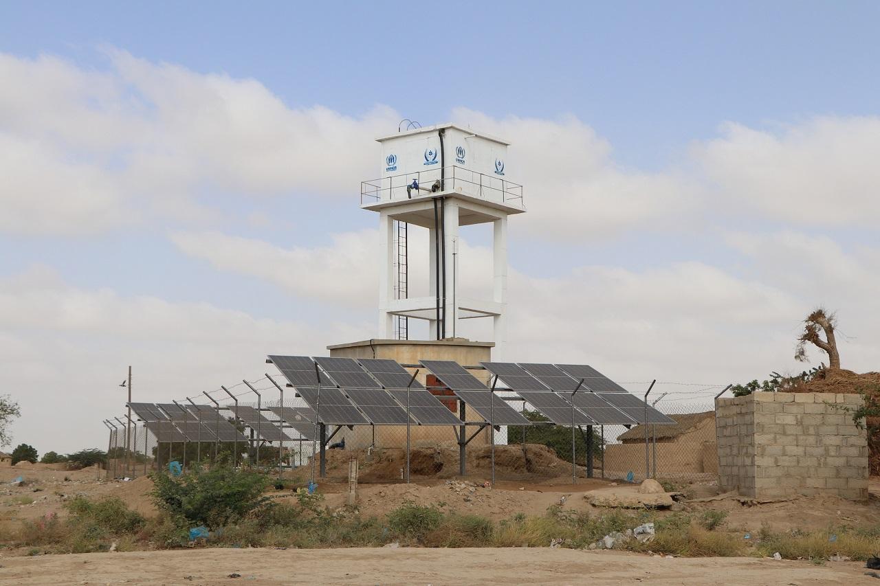 إعادة تأهيل نقطة مياه في مديرية اللحية - محافظة الحديدة