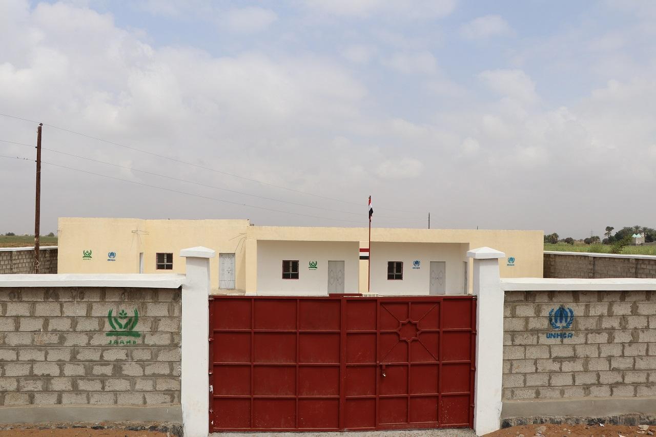 إعادة تأهيل وترميم مدرسة التضامن الأساسية في مديرية القناوص - محافظة الحديدة